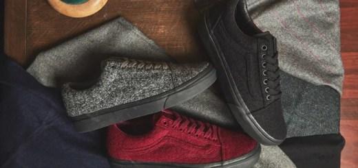"""12/12発売!size? × VANS OLD SKOOL """"Wool Pack"""" (サイズ バンズ オールド スクール """"ウール パック"""")"""