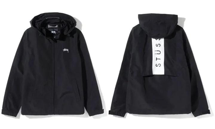 STUSSYからバックヨークに帯状のパネルを切り替えコントラストカラーで仕上げる「ミッションクルーザージャケット」が発売! (ステューシー)