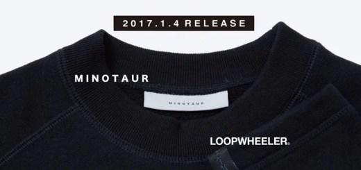 LOOPWHEELER × MINOTAUR コラボ スウェットウェアがM.U.G限定で1/4から発売! (ループウィラー ミノトール)