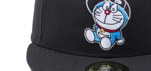 New Eraとドラえもんがコラボレーション!秘密道具を全面にスクリーンプリントしたモデルなどが発売! (ニューエラ Doraemon)