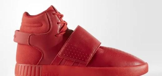 """アディダス オリジナルス チュブラー インベーダー ストラップ """"レッド レザー"""" (adidas Originals TUBULAR INVADER STRAP """"Red Leather"""") [BB8399]"""