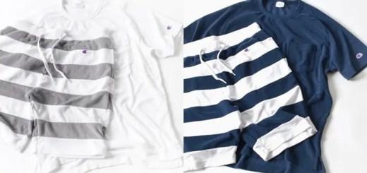 """3月下旬発売!Champion × SHIPS別注 """"TERRY CLOTH"""" パイル ボーダー セットアップ (チャンピオン シップス)"""