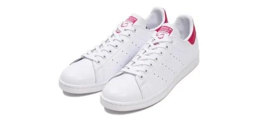 """ABC-MART限定!ピンクが映えるアディダス オリジナルス スタンスミス """"ホワイト/ピンク"""" (adidas Originals STAN SMITH """"White/Pink"""") [CG4154]"""