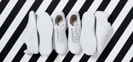 OFF-WHITE C/O VIRGIL ABLOH x UMBRO Coach Sneakerが海外展開! (オフホワイト アンブロ)