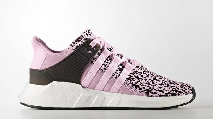 """アディダス オリジナルス エキップメント サポート 93/17 """"ピンク/ホワイト"""" (adidas Originals EQT SUPPORT 93/17 """"Pink/White"""") [BZ0583]"""