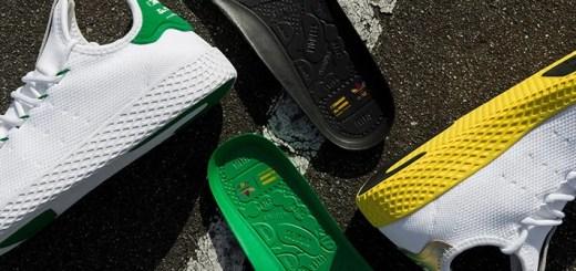 国内5/6発売!Pharrell Williams x adidas Originals Human Race Tennis HU 2カラー (ファレル・ウィリアムス アディダス オリジナルス ヒューマン レース テニス) [BA7828][BY2674]