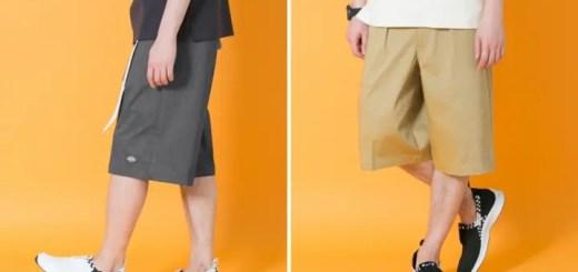 Dickies × URBAN RESEARCH iD 別注 1TUCK SHORTSが5月中旬発売! (ディッキーズ アーバンリサーチ アイディ)