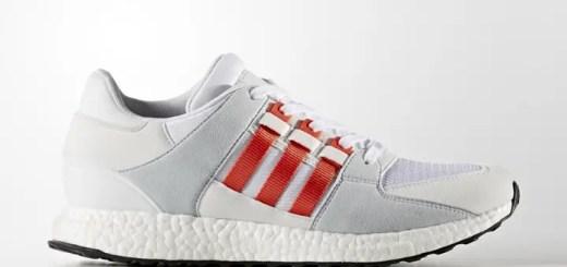 """アディダス オリジナルス エキップメント サポート RF """"ホワイト/スカーレット"""" (adidas Originals EQT SUPPORT RF """"White/Scarlet"""") [BY9532]"""