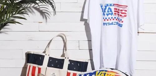 VANS × カリフォルニア工務店 コラボ第3弾!星条旗のグラフィックを軸にしたスペシャルパッケージが6/2発売! (バンズ)
