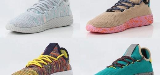Pharrell Williams x adidas Originals Human Tennis 4カラー (ファレル・ウィリアムス アディダス オリジナルス ヒューマン テニス) [BY2671,2672,2673,CQ1872]
