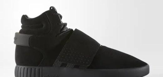 """2017年 秋モデル!adidas Originals TUBULAR INVADER STRAP """"Core Black"""" (アディダス オリジナルス チュブラー インベーダー ストラップ """"コア ブラック"""" 2017 FALL) [BY3632]"""
