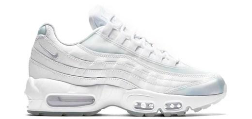 """ナイキ ウィメンズ エア マックス 95 SE """"ホワイト/アイス"""" (NIKE WMNS AIR MAX 95 SE """"White/Ice"""") [918413-100]"""