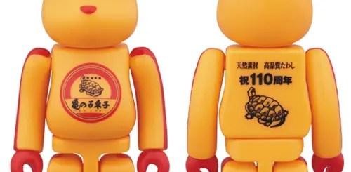 亀の子束子がクマ型に!ベアブリックとのコラボレーションが7/1から発売 (BE@RBRICK)