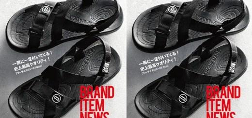 JAM HOME MADE オールブラック スポーツサンダルが付録!smart 2017年9月号が7/24発売! (スマート ジャムホームメイド)