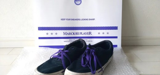【PR レビュー】MARQUEE PLAYER (マーキープレイヤー) 保管用パック 「SNEAKER PACK DRESSING ROOM」