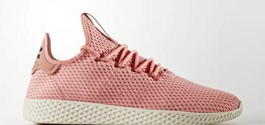 "Pharrell Williams x adidas Originals WMNS Human Race Tennis HU ""Tacros"" (ファレル・ウィリアムス アディダス オリジナルス ウィメンズ ヒューマン レース テニス ""タクティルローズ"") [BY8715]"