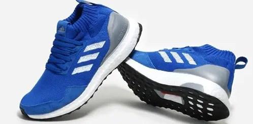 """7/19発売!adidas Consortium ULTRA BOOST MID """"Run Thru Time"""" Blue/White (アディダス コンソーシアム ウルトラ ブースト ミッド """"ラン スルー タイム"""" ブルー/ホワイト) [BY3056]"""
