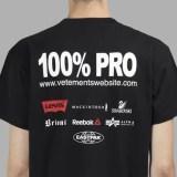 VETEMENTS 100% PRO STANDARD TEE/NORMAL FIT HOODIE (ヴェトモン プロ スタンダード TEE/ノーマル フィット フーディー)