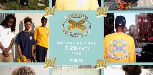 """世界でもNUBIANだけで展開!""""A$AP MOB""""のメンバー""""A$AP ANT""""が仕掛ける「MARINO INFANTRY-マリノ インファントリー」全23アイテムが7/29発売!"""