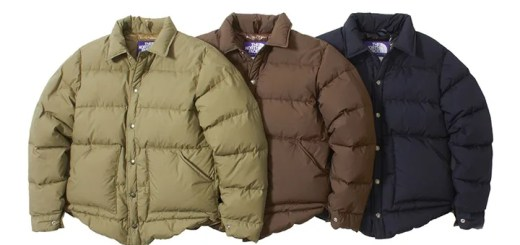 ザ・ノースフェイス パープル レーベル「Lightweight 65/35 Stuffed Shirt」2017年 秋冬モデル (THE NORTH FACE PURPLE LABEL 2017 FALL/WINTER) [ND2752N]
