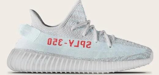 """【続報/イメージ】2017/12/1発売予定!adidas Originals YEEZY 350 BOOST V2 """"Blue Tint/Grey Three/High Resolution Red"""" (アディダス オリジナルス イージー 350 ブースト V2)"""