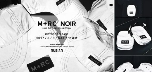 M+RC NOIRよりリフレクター素材を使用した「3M COLLECTION」がNUBIAN原宿店にて8/5から先行発売! (マルシェノア)