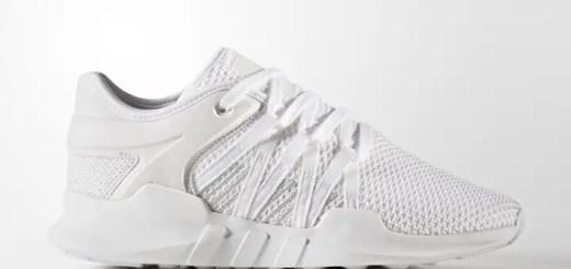"""アディダス オリジナルス ウィメンズ エキップメント レーシング ADV プライムニット """"ホワイト/グレー ワン"""" (adidas Originals WMNS EQT RACING ADV PRIMEKNIT {PK} """"White/Grey One"""") [BY9796]"""