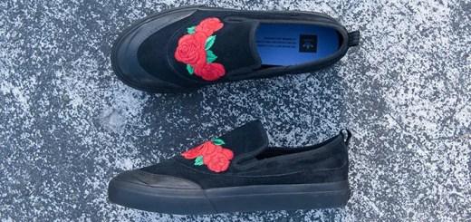 """8/12発売!アディダス マッチコート スリップ ナケル・スミス """"ブラック ローズ"""" (adidas MATCHCOURT Slip NA-KEL SMITH """"Black Rose"""") [CG4275]"""