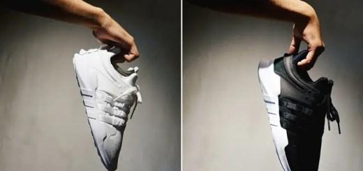 """国内 monkey time/adidas限定!アディダス オリジナルス エキップメント サポート ADV EX """"ブラック/ホワイト"""" (adidas Originals EQT SUPPORT ADV EX """"Black/White"""")"""