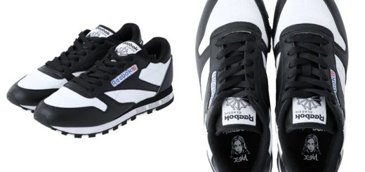 "X-girl × REEBOK CL LEATHER ""Black/White"" (エックスガール リーボック クラシック レザー ""ブラック/ホワイト"")"