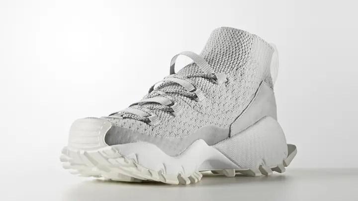 """アディダス シーユーレーター プライムニット """"グレー"""" (adidas SEEULATER PRIMEKNIT """"Grey"""") [BY9402]"""