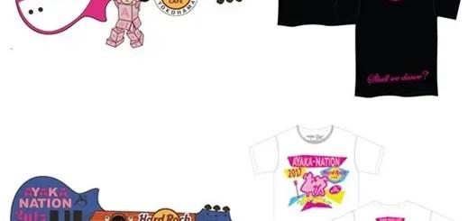 ももクロ「佐々木彩夏」× 「ハードロックカフェ」とのコラボグッズが8/25~ライブ会場/ハードロックカフェ横浜で発売 !