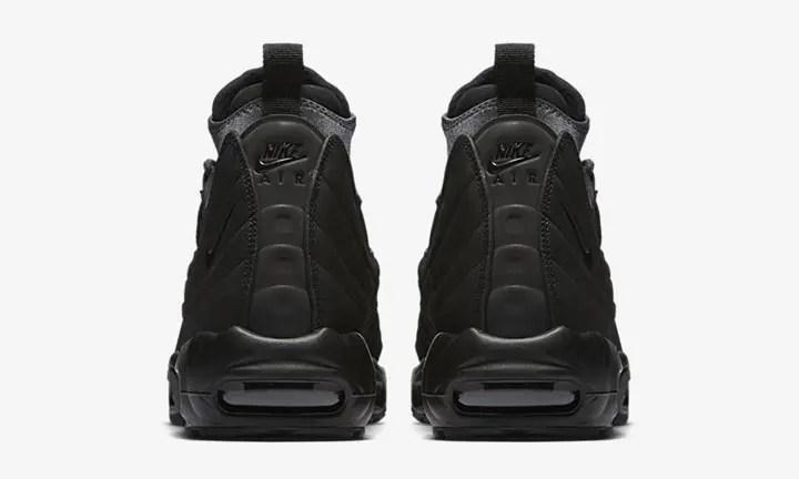 """11月発売予定!ナイキ エア マックス 95 スニーカー ブーツ """"トリプル ブラック"""" (NIKE AIR MAM 95 SNEAKERBOOT """"Triple Black"""") [806809-001]"""