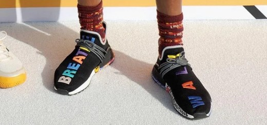 "Pharrell Williams x adidas Originals NMD HU Black/Multi (ファレル・ウィリアムス アディダス オリジナルス エヌ エム ディー ""ブラック/マルチ"")"