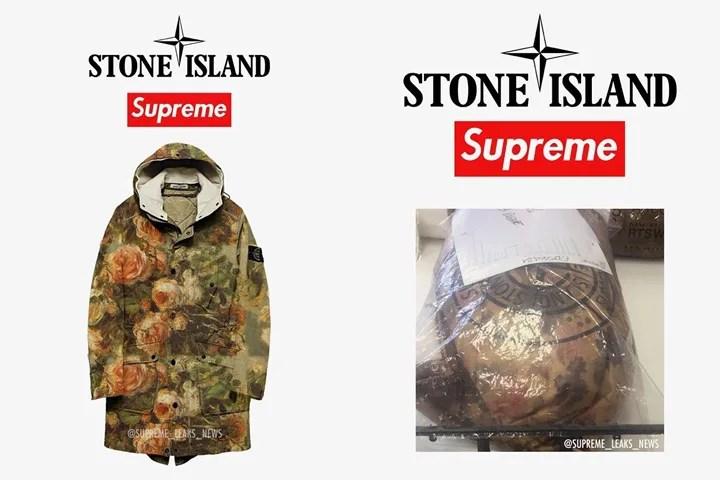 【リーク】シュプリーム × ストーンアイランド フラワーパターンのジャケットショット (SUPREME Stone Island 2017 F/W)
