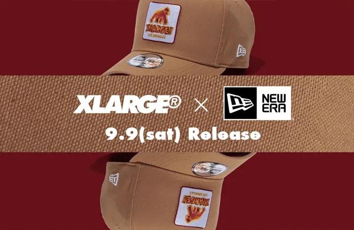 新色「ウィート-Wheat」!ジャスティン・ビーバー着用で話題の「X-large WALKING APE」がNew Eraとのコラボが9.8から発売! (エクストララージ ウォーキング エイプ ニューエラ)