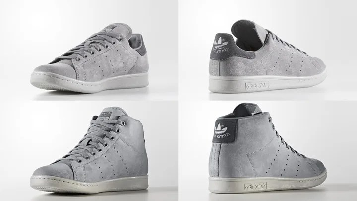 "adidas Originals STAN SMITH/STAN SMITH MID ""Grey Three"" (アディダス オリジナルス スタンスミス/スタンスミス ミッド ""グレー スリー"") [BZ0452,BZ0651]"