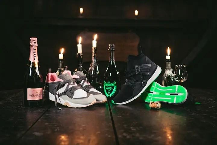 """9/16発売!solebox × PUMA """"Champagne Pack"""" (ソールボックス プーマ """"シャンパン パック"""")"""