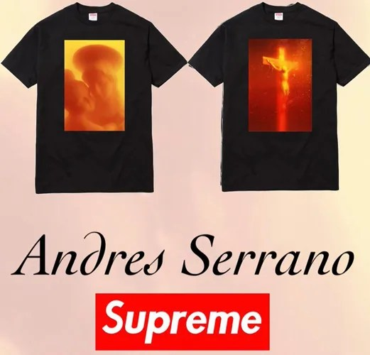 【リーク】シュプリーム × アンドレス・セラーノ!尿に浸したキリストや聖母のアートがモチーフのグラフィックTEE (SUPREME Andres Serrano 2017 F/W)