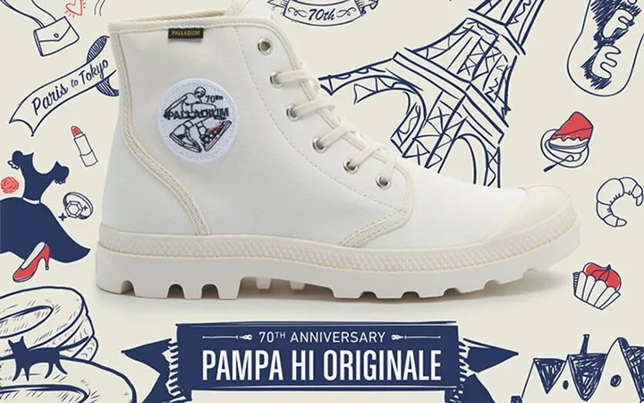 パラディウム70周年記念日本限定モデル!「PALLADIUM PAMPA HI ORIGINALE LTD」が発売 (パラディウム パンパ ハイ オリジナーレ)