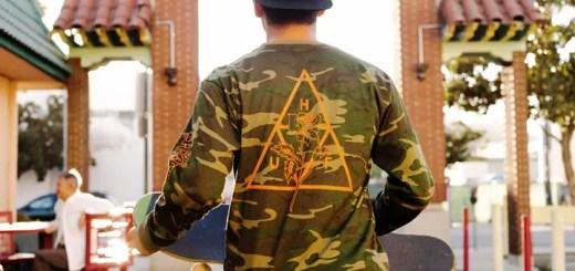 HUFからミリタリースーヴェニアジャケットに刺繍されたアートワークにインスパイアを受けた「AMBUSH PACK」が9/23発売! (ハフ)