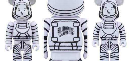 BILLIONAIRE BOYS CLUBのキャラがBE@RBRICKに!10月からBBCで2サイズリリース (ビリオネア ボーイズ クラブ ベアブリック)