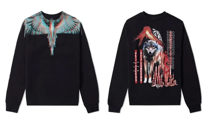 MARCELO BURLON 2017 A/W COLLECTION CREW SWEAT (マルセロ・バーロン)