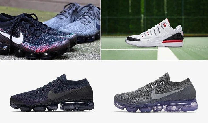"【まとめ】9/28発売の厳選スニーカー!(NIKE AIR VAPORMAX FLYKNIT)(COURT ZOOM VAPOR RF AJ3 ""Fire Red"")(ASICS TIGER GEL-MAI KNIT)(adidas Originals SUPERSTAR BOOST)他"