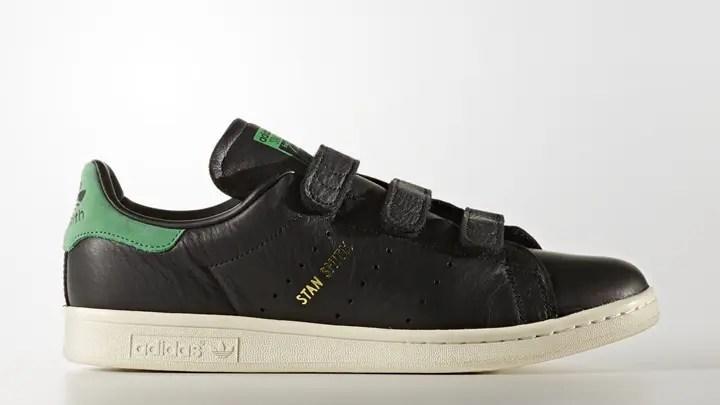 """10/12発売!アディダス オリジナルス スタンスミス CF """"コア ブラック/グリーン"""" (adidas Originals STAN SMITH CF """"Core Black/Green"""") [BZ0533]"""