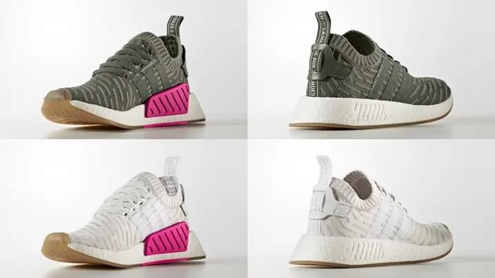 10/14発売!adidas Originals WMNS NMD_R2 PRIMEKNIT {PK} 2カラー (アディダス オリジナルス ウィメンズ エヌ エム ディー プライムニット) [BY9953,9954]