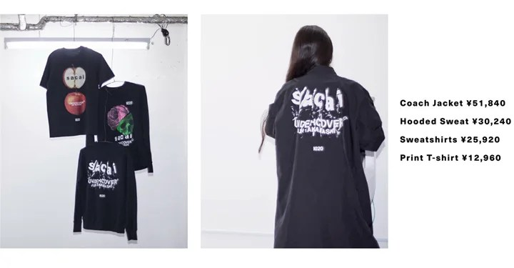 """Amazon Fashion """"AT TOKYO""""にてsacai × UNDERCOVER SPECIAL ITEMが10/20から発売 (アマゾン ファション """"アット トウキョウ"""" サカイ アンダーカバー)"""