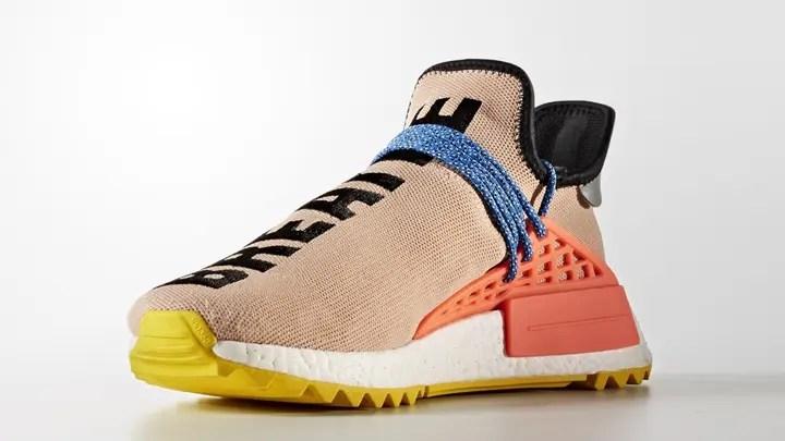 """Pharrell Williams x adidas Originals NMD Human Trail """"Pale Nude"""" (ファレル・ウィリアムス アディダス オリジナルス ヒューマン エヌエムディー トレイル """"ペール ヌ-ド"""") [AC7361]"""