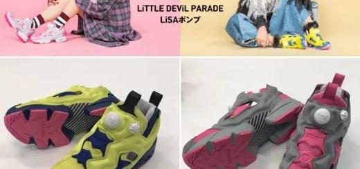 """10/16~1か月限定!LiSA × リーボック インスタ ポンプ フューリー """"LiTTELE DEViL PARADE LiSAポンプ"""" (リサ REEBOK INSTA PUMP FURY)"""