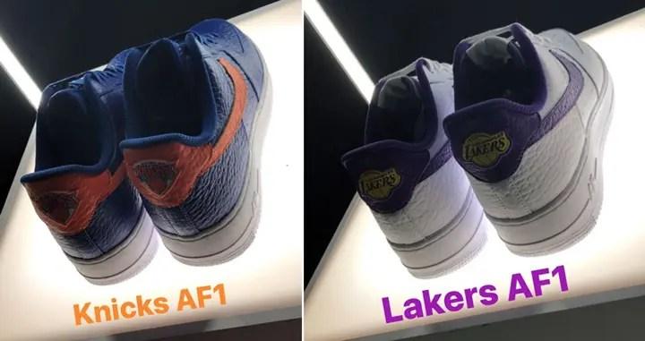 "NBAチームロゴをヒールに配置したナイキ エア フォース 1 ロー (NIKE AIR FORCE 1 LOW ""Team Logo"")"